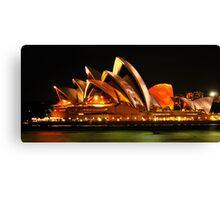 Vivid Sydney #3- Sydney Opera House - The HDR Experience Canvas Print