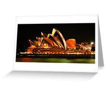 Vivid Sydney #3- Sydney Opera House - The HDR Experience Greeting Card