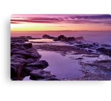 """Purple Morn"" Canvas Print"