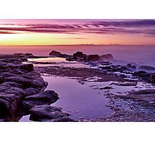 """Purple Morn"" Photographic Print"