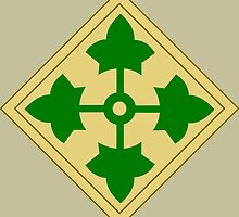 4th Infantry Division (United States) by wordwidesymbols