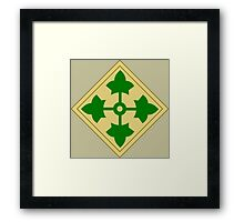 4th Infantry Division (United States) Framed Print