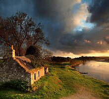 Kercock Bothy - River Tay - Perthshire by Angus Clyne