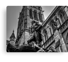 Statue Of Captain Matthew Flinders Canvas Print