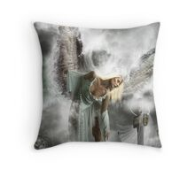 When Angels Fall. Throw Pillow
