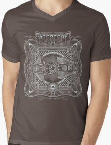 Intercept Mens V-Neck T-Shirt