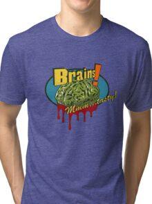 Brains. Tri-blend T-Shirt