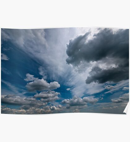 ditchling beacon sky Poster