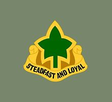 4th Infantry Division - Distinctive unit insignia (United States) by wordwidesymbols