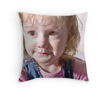 Sweetly Planning War Throw Pillow