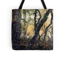 Dewey Dawn Wandering In Wistful Woods Tote Bag