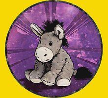 Donkey Plush (yellow) by torg
