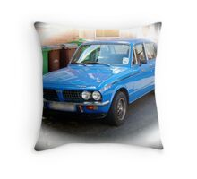 The Triumph Dolomite. Throw Pillow