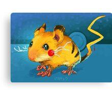 Electric Mouse Canvas Print
