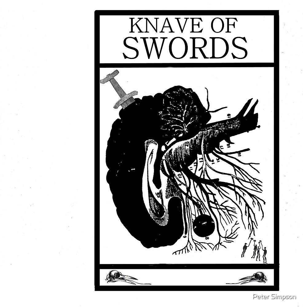 Knave of Swords by Peter Simpson