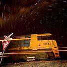 NR 43.Railway Crossing by Murray Wills