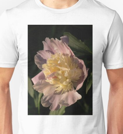 Brilliant Spring Sunshine - a Showy Pink Peony From My Garden Unisex T-Shirt