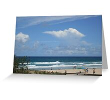Perfect Day In Paradise Greeting Card