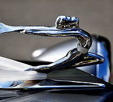 Vintage Hood Ornament by Shubd
