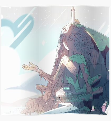 Steven Universe - Temple  Poster
