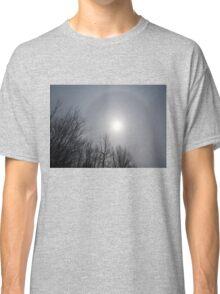 Sun Halo Through the Trees Classic T-Shirt