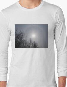 Sun Halo Through the Trees Long Sleeve T-Shirt