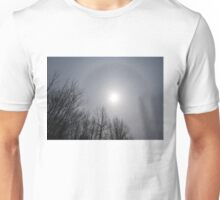 Sun Halo Through the Trees Unisex T-Shirt