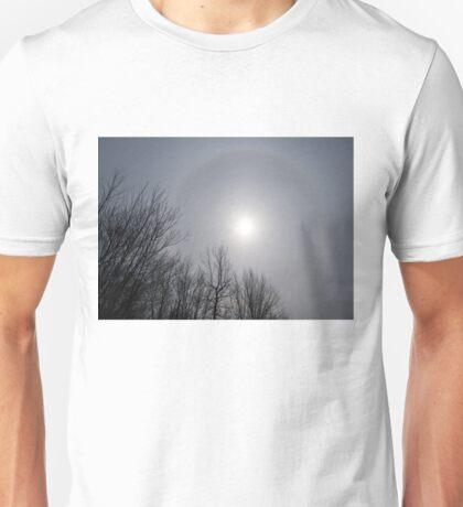 Sun Halo Through the Trees Unisex T-Shirt