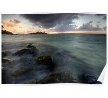 Muri Lagoon Sunrise Surprise Poster