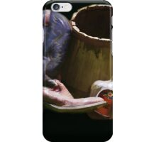 Boots and Whiskey on Black iPhone Case/Skin