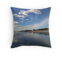 Blue Skies Throw Pillow