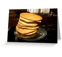 Join me for breaksfast Greeting Card