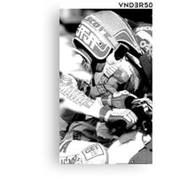 VNDERFIFTY MOTO X RACING Canvas Print
