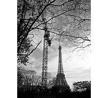 Eiffel crane Photographic Print