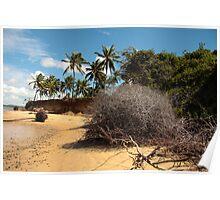 Lagoon Beach Poster