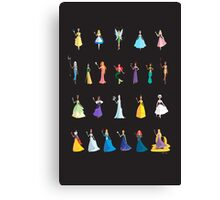 Princesses & Heroines  Canvas Print