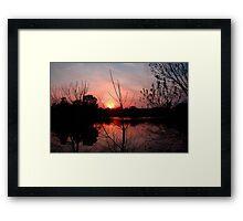 As Nature Sleeps...© Framed Print