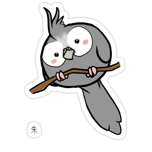 White-Face Cockatiel by Shukura