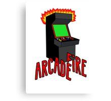 Arcade Fire-Literally Canvas Print