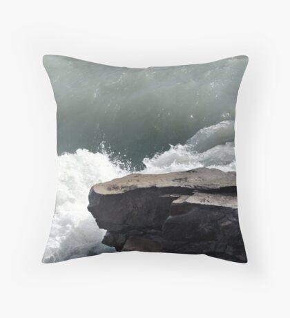 Jade Water Throw Pillow