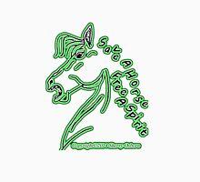 Neon Green Glow Save a Horse Free A Spirit Unisex T-Shirt