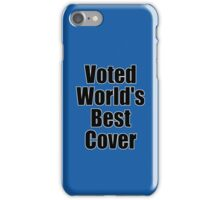Ironic Tee - Voted World's Best T-Shirt iPhone Case/Skin