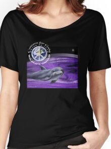 concern for gaia dolphin Women's Relaxed Fit T-Shirt