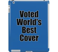 Ironic Tee - Voted World's Best T-Shirt iPad Case/Skin