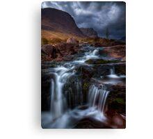 The Russell Burn , Applecross, Western Scotland. Canvas Print