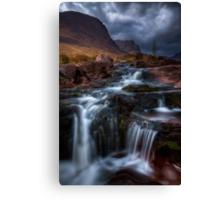 The Russell Burn , Applecross, Western Scotland. Canvas Print