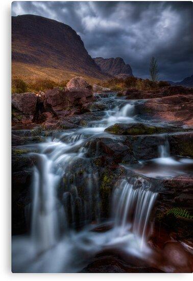 The Russell Burn , Applecross, Western Scotland. by photosecosse /barbara jones
