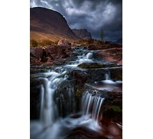 The Russell Burn , Applecross, Western Scotland. Photographic Print