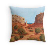 Amazing Views ~ Southwest Landscape ~ Oil Painting Throw Pillow