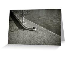 Solitude in Paris Greeting Card